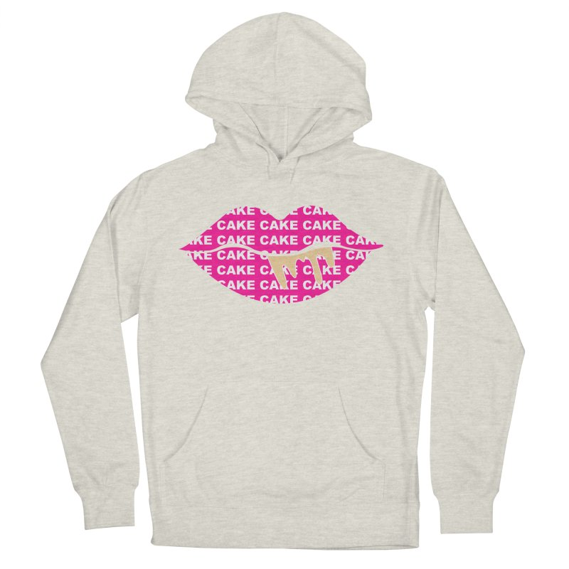 CAKE LIPS (Gld Drips) Men's Pullover Hoody by More Cake?