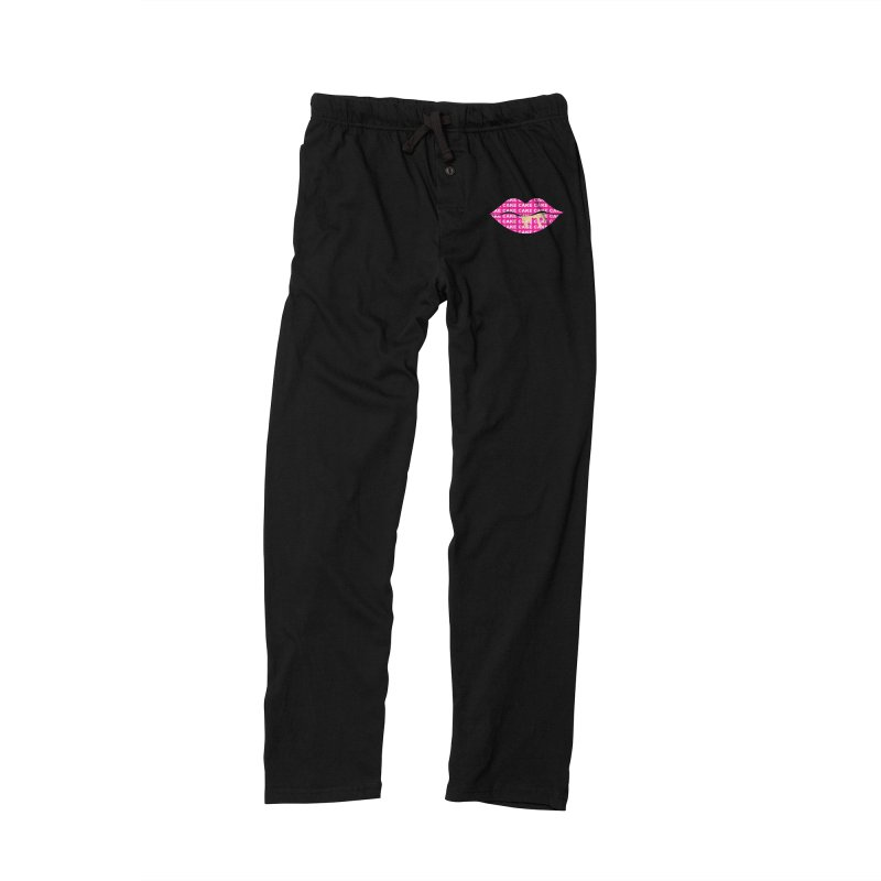 CAKE LIPS (Gld Drips) Men's Lounge Pants by More Cake?