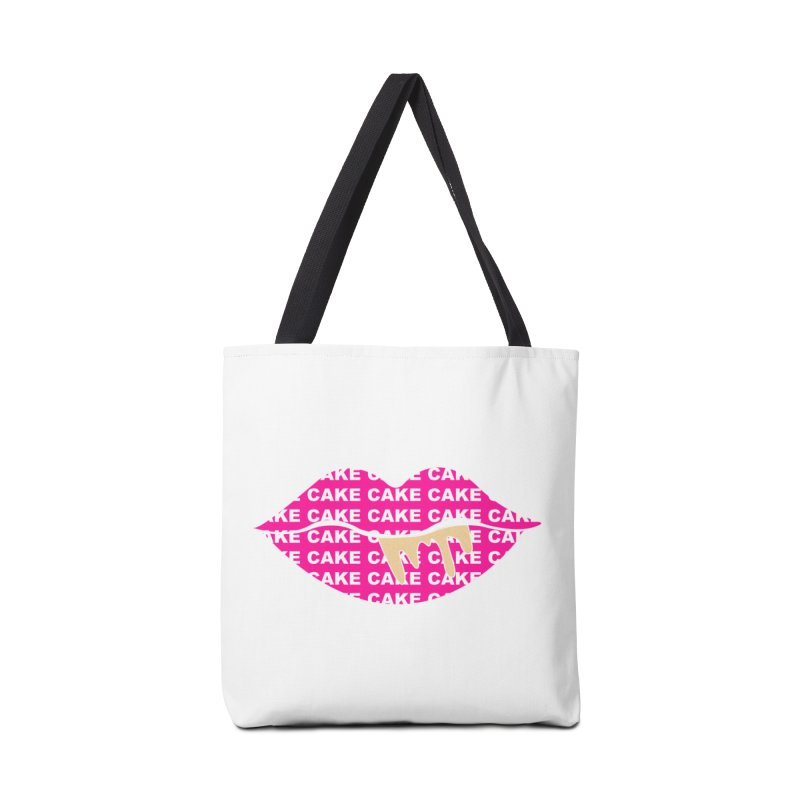 CAKE LIPS (Gld Drips) Accessories Bag by More Cake?