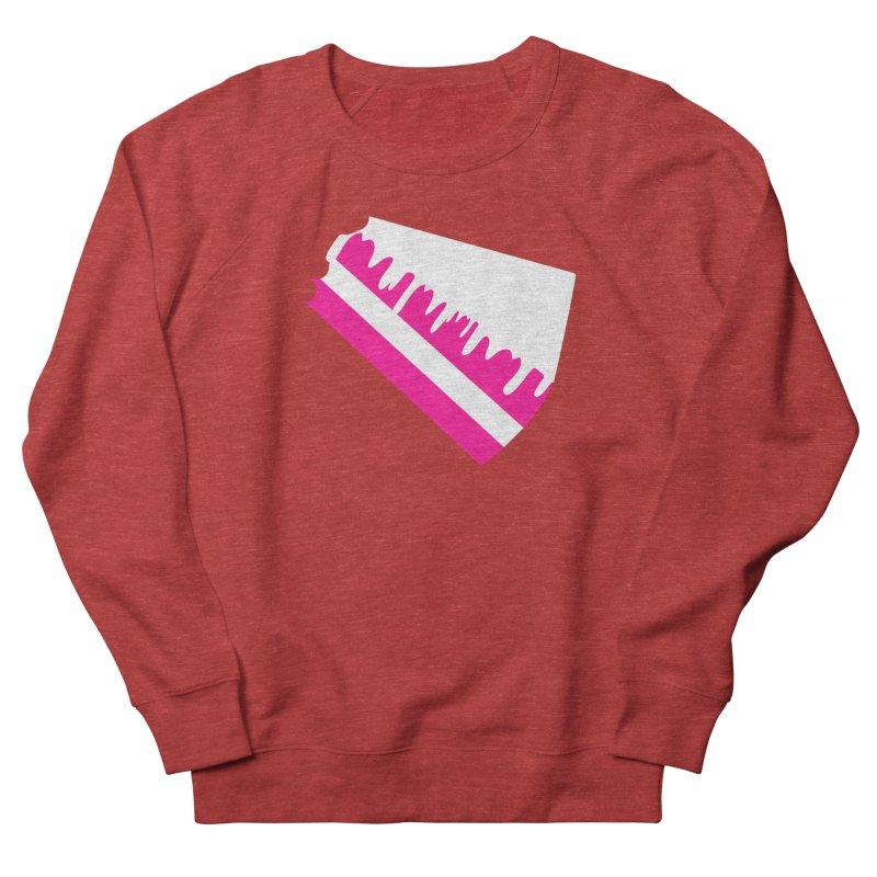 CAKE DRIP (Wht & Pnk) Men's Sweatshirt by More Cake?