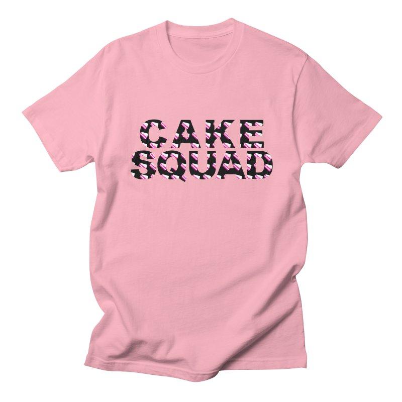 CAKE SQUAD Men's Regular T-Shirt by More Cake?