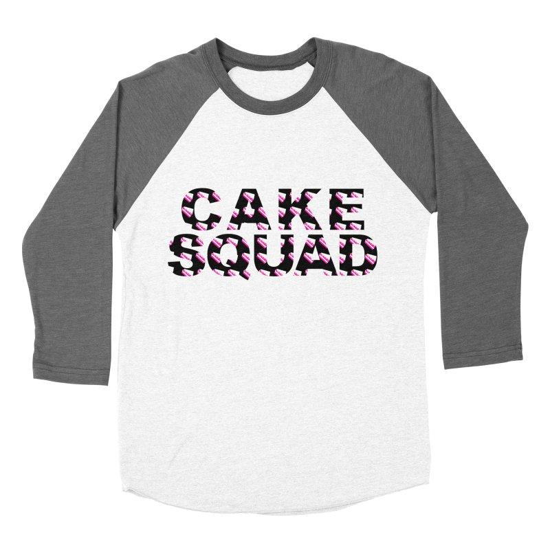 CAKE SQUAD Men's Baseball Triblend Longsleeve T-Shirt by More Cake?