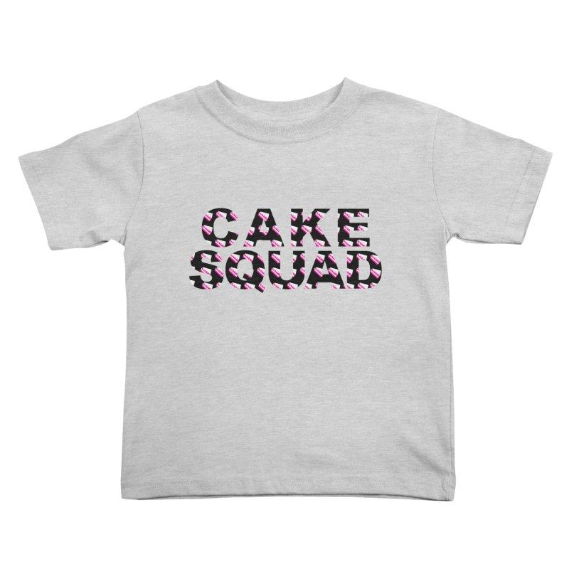 CAKE SQUAD Kids Toddler T-Shirt by More Cake?