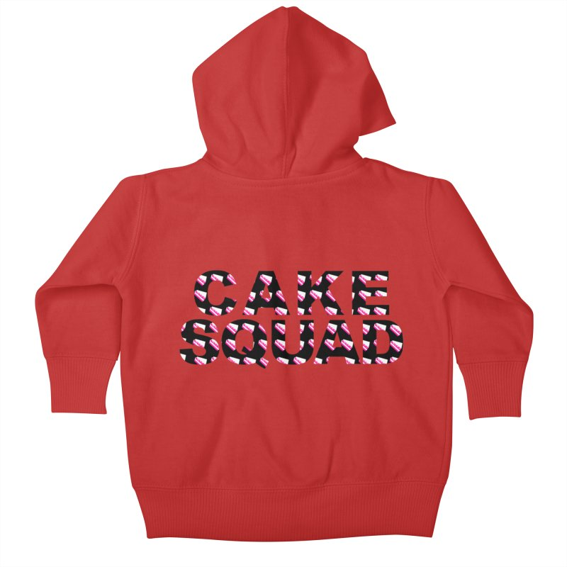 CAKE SQUAD Kids Baby Zip-Up Hoody by More Cake?
