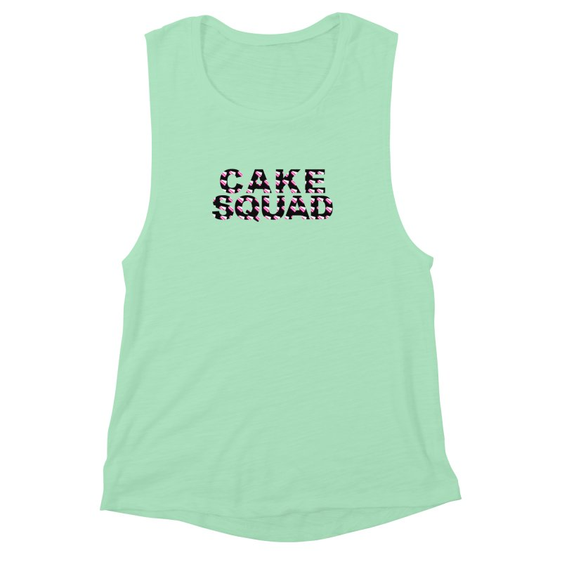 CAKE SQUAD Women's Muscle Tank by More Cake?