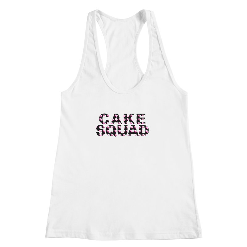 CAKE SQUAD Women's Racerback Tank by More Cake?