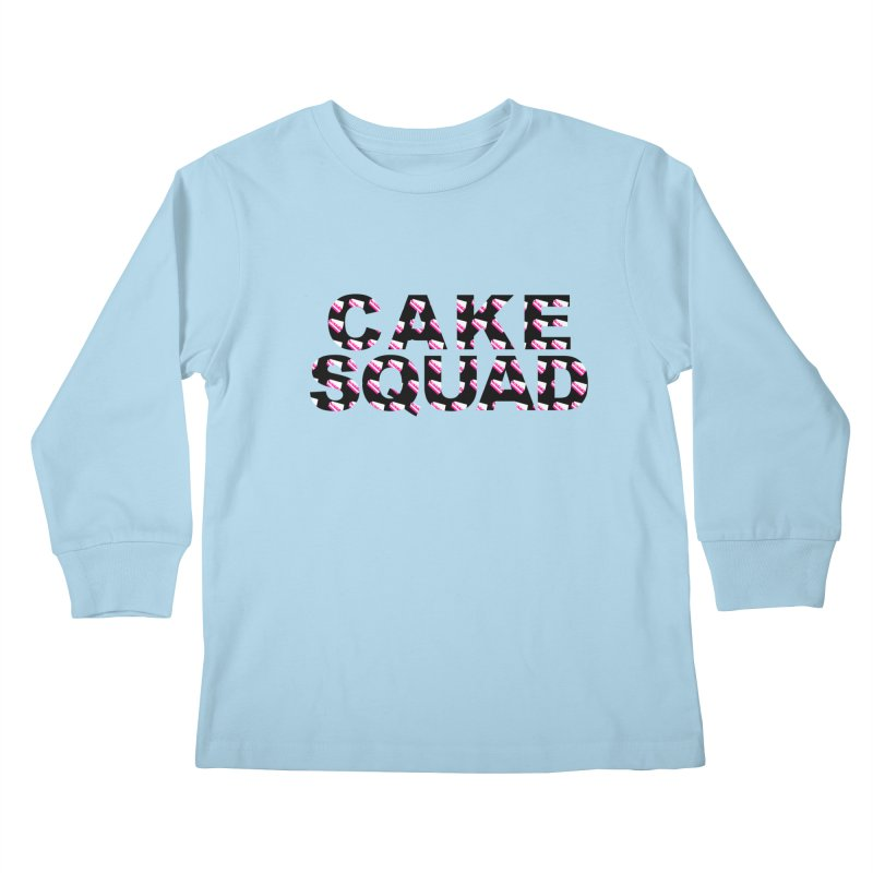 CAKE SQUAD Kids Longsleeve T-Shirt by More Cake?