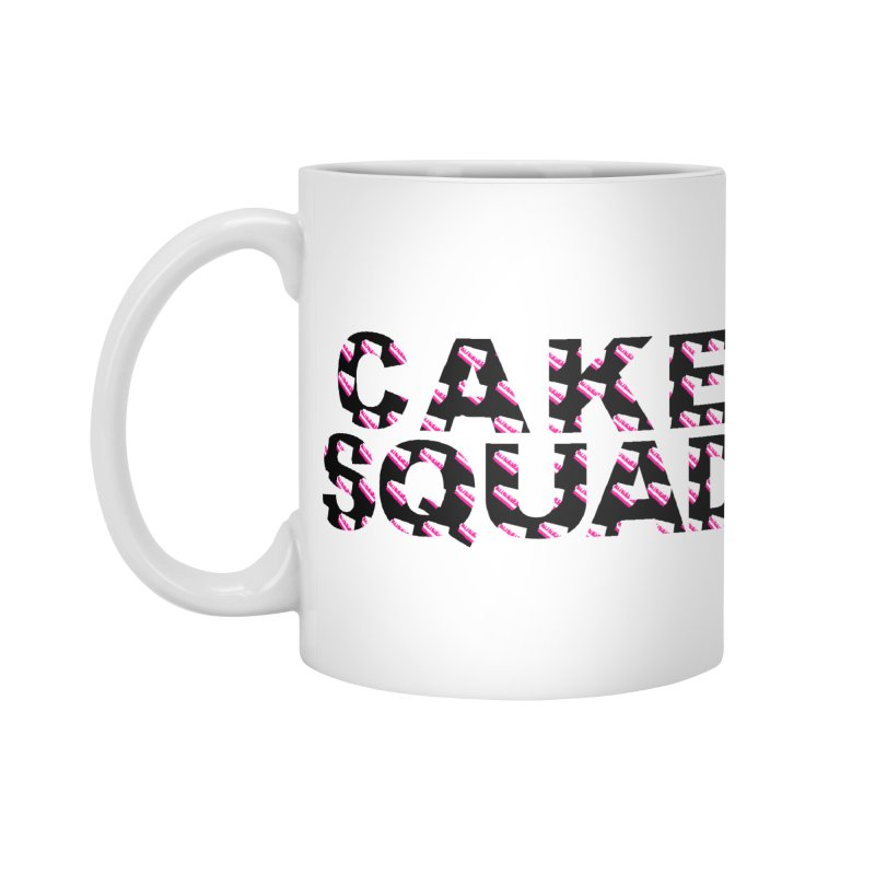 CAKE SQUAD Accessories Mug by More Cake?