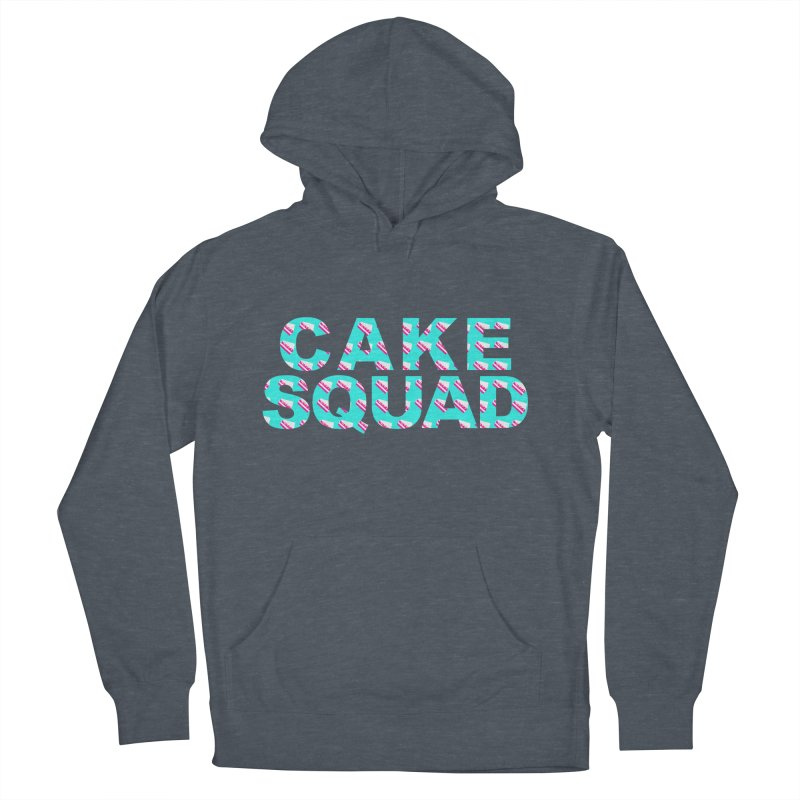 CAKE SQUAD (baby blue) Women's French Terry Pullover Hoody by More Cake?