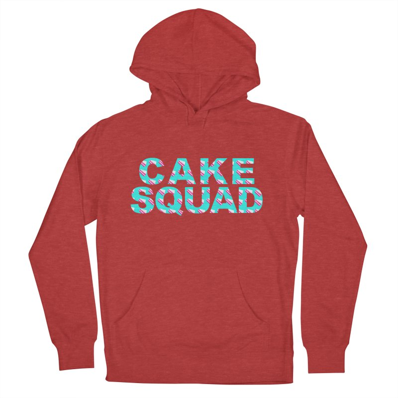 CAKE SQUAD (baby blue) Women's Pullover Hoody by More Cake?