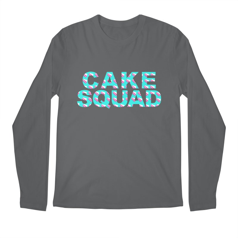 CAKE SQUAD (baby blue) Men's Longsleeve T-Shirt by More Cake?