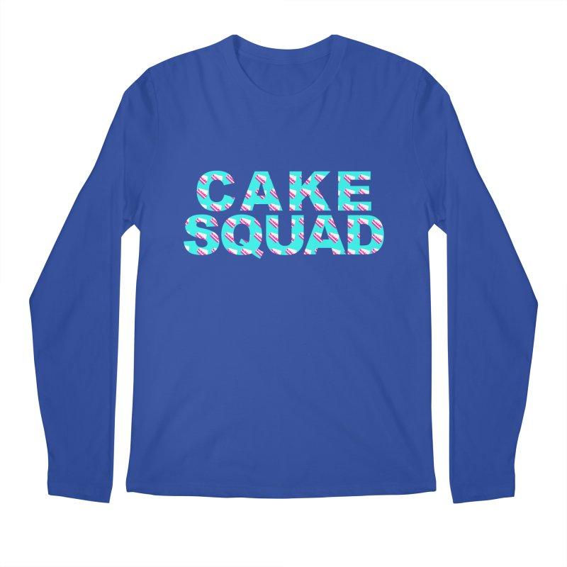 CAKE SQUAD (baby blue) Men's Regular Longsleeve T-Shirt by More Cake?