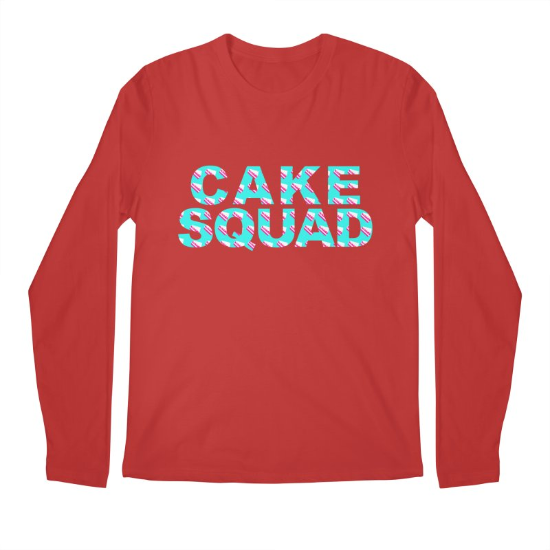 CAKE SQUAD (baby blue) Men's Regular Longsleeve T-Shirt by More Cake?