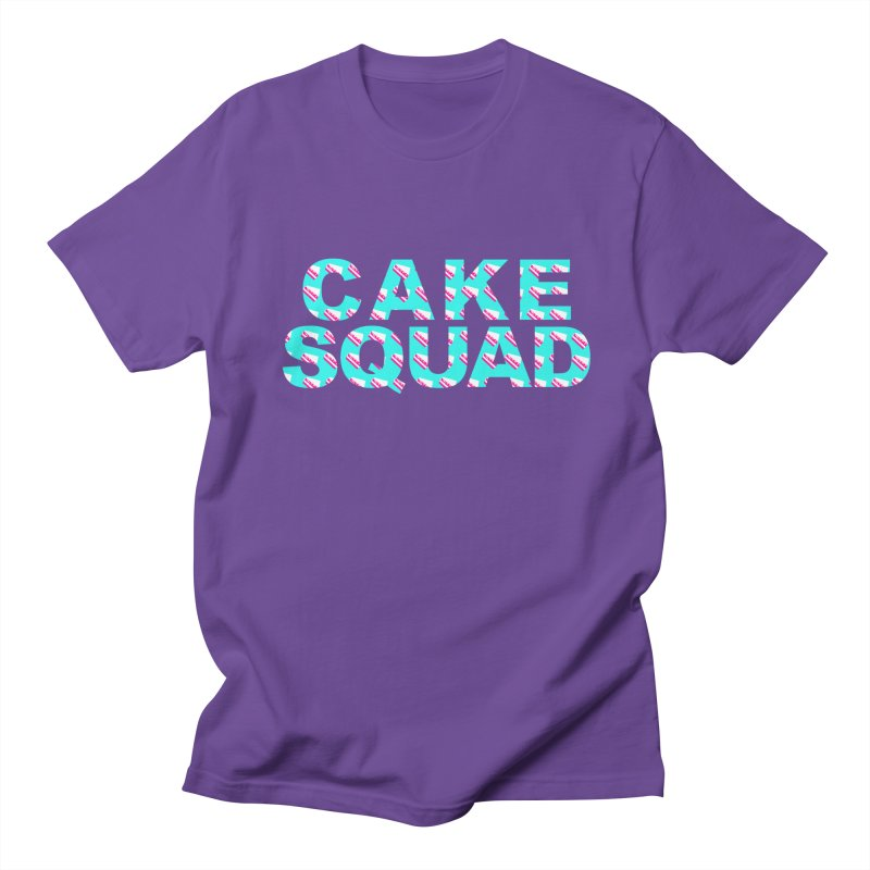 CAKE SQUAD (baby blue) Women's Regular Unisex T-Shirt by More Cake?