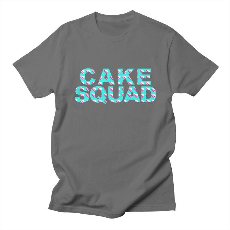 CAKE SQUAD (baby blue) Women's Regular Unisex T-Shirt by More Cake?