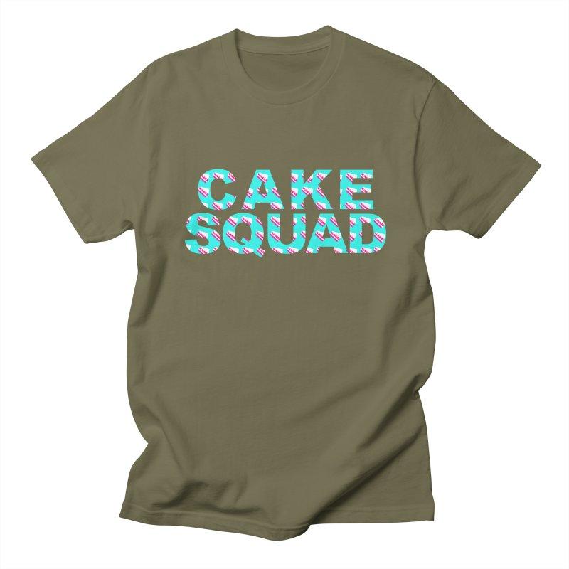 CAKE SQUAD (baby blue) Men's Regular T-Shirt by More Cake?