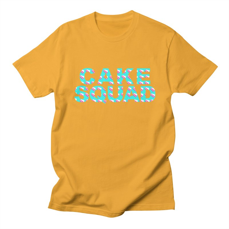 CAKE SQUAD (baby blue) Men's Regular T-Shirt by More Cake?