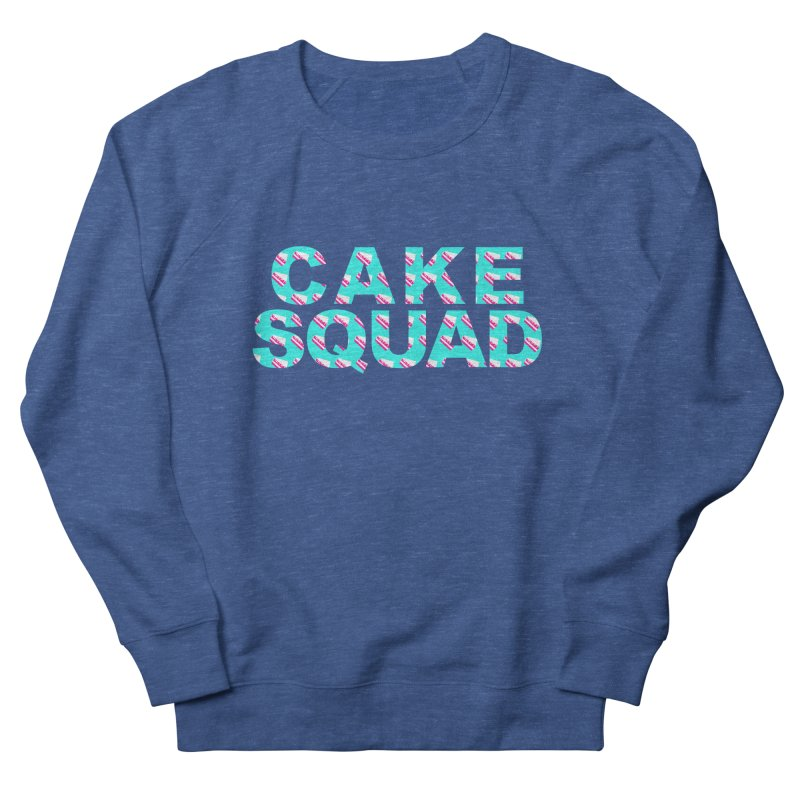 CAKE SQUAD (baby blue) Women's Sweatshirt by More Cake?