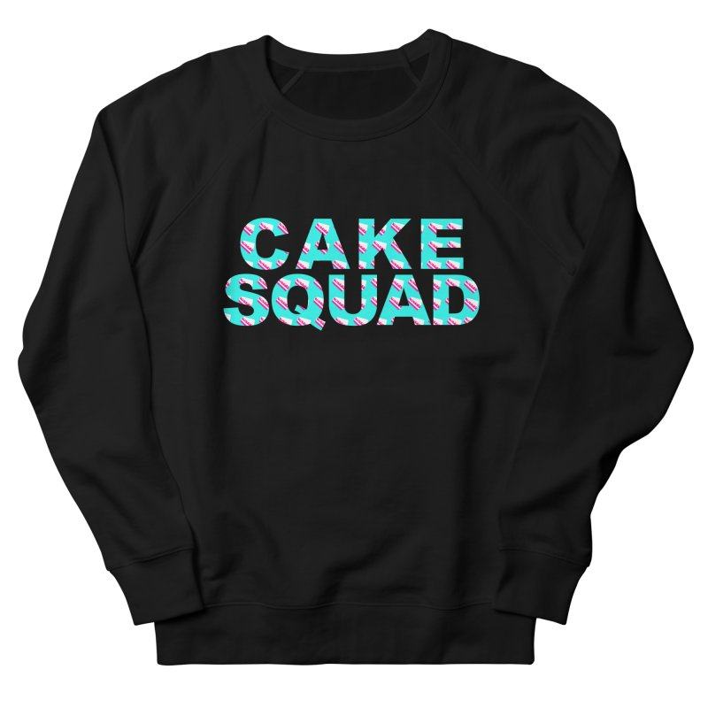 CAKE SQUAD (baby blue) Women's French Terry Sweatshirt by More Cake?