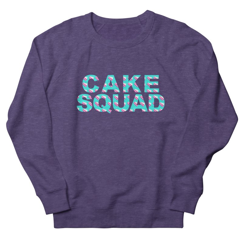CAKE SQUAD (baby blue) Men's French Terry Sweatshirt by More Cake?
