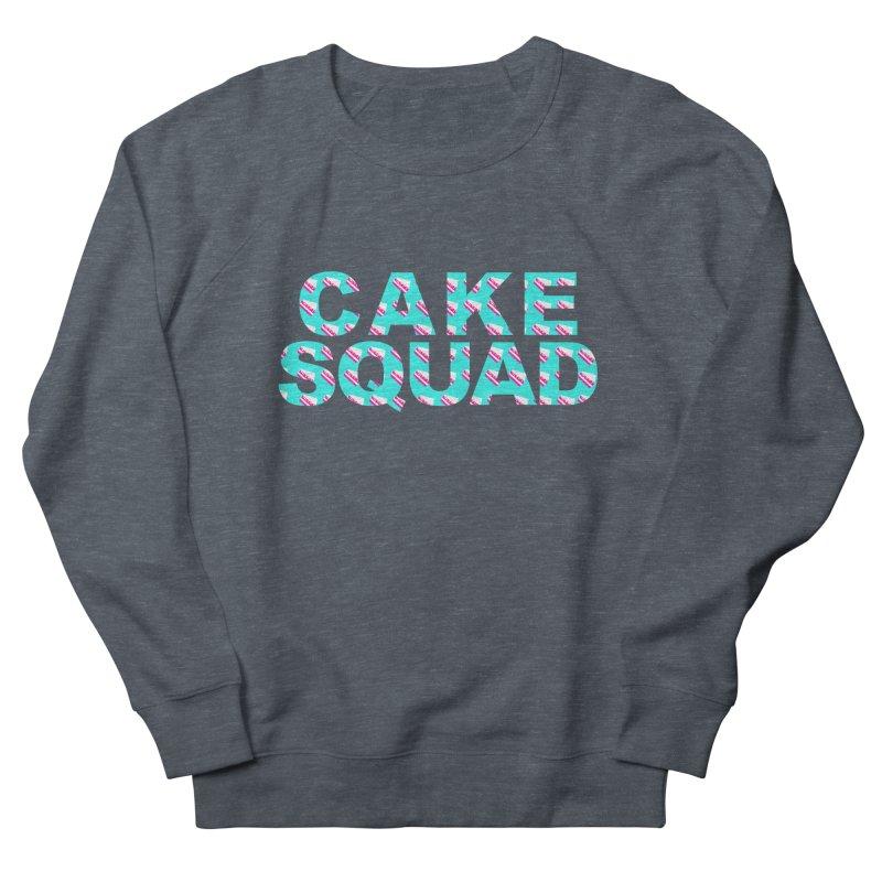 CAKE SQUAD (baby blue) Men's Sweatshirt by More Cake?