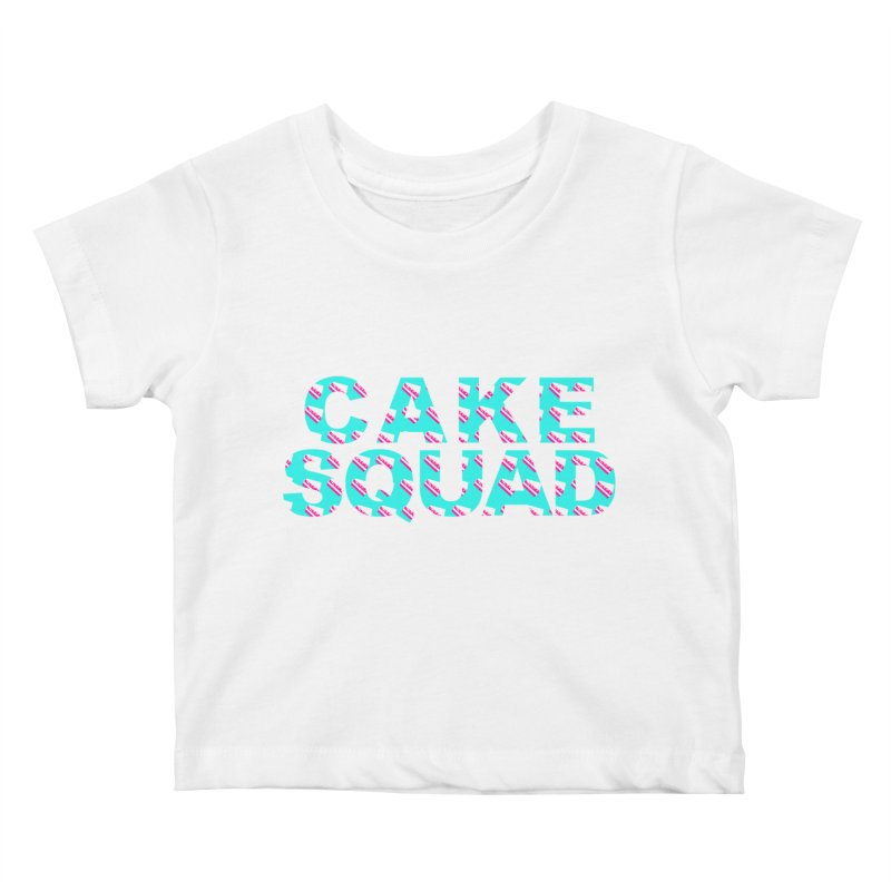 CAKE SQUAD (baby blue) Kids Baby T-Shirt by More Cake?
