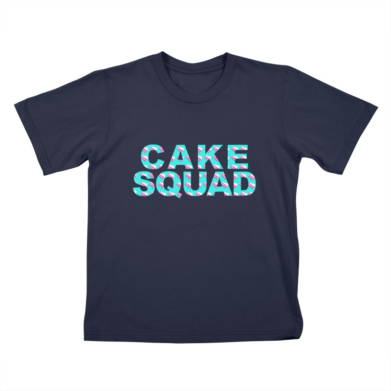 CAKE SQUAD (baby blue) Kids Toddler T-Shirt by More Cake?