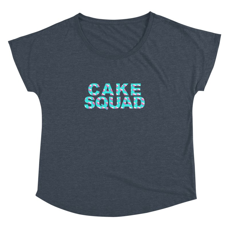 CAKE SQUAD (baby blue) Women's Dolman by More Cake?