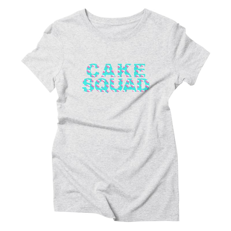 CAKE SQUAD (baby blue) Women's  by More Cake?