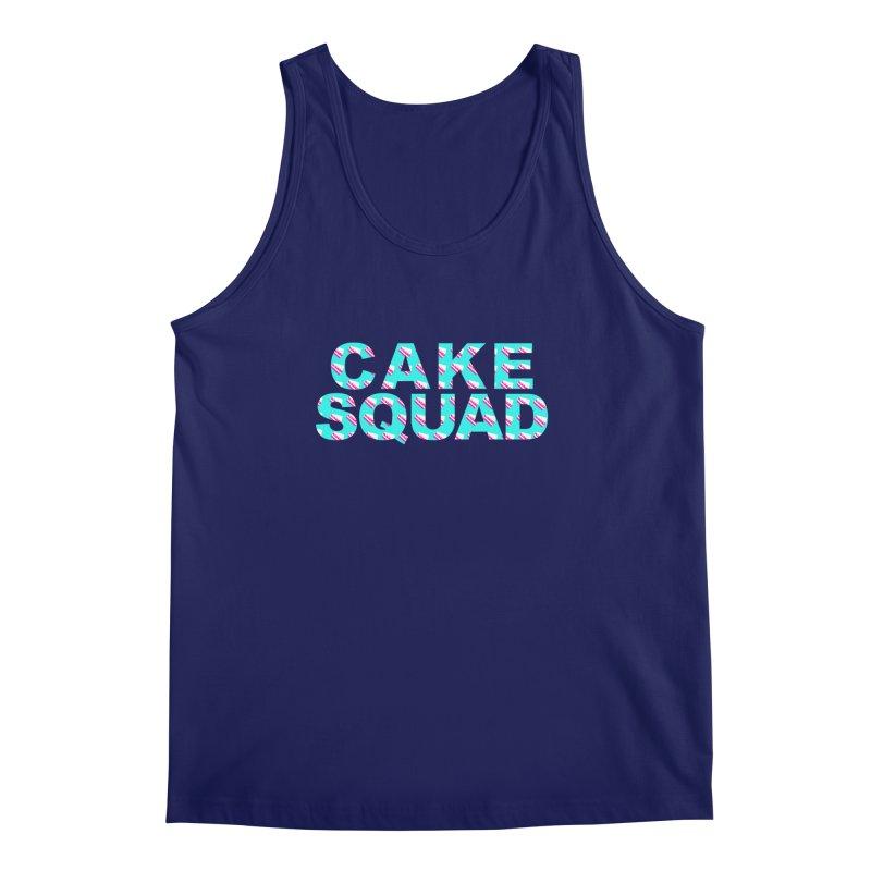 CAKE SQUAD (baby blue) Men's Regular Tank by More Cake?