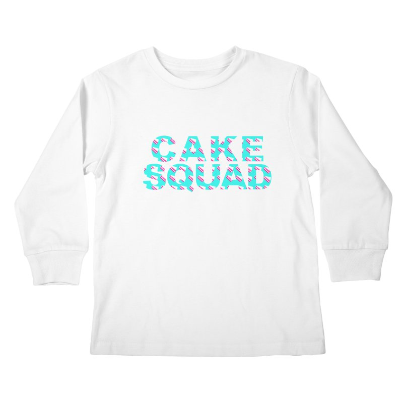 CAKE SQUAD (baby blue) Kids Longsleeve T-Shirt by More Cake?