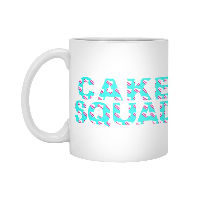 CAKE SQUAD (baby blue) Accessories Mug by More Cake?