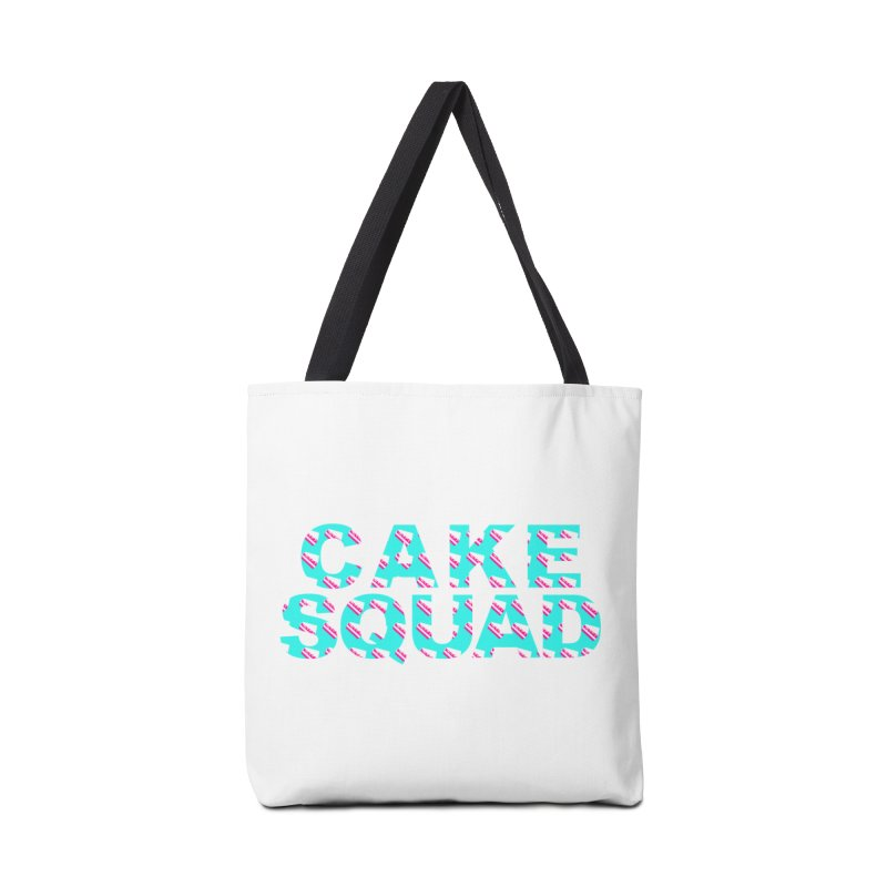 CAKE SQUAD (baby blue) Accessories Bag by More Cake?