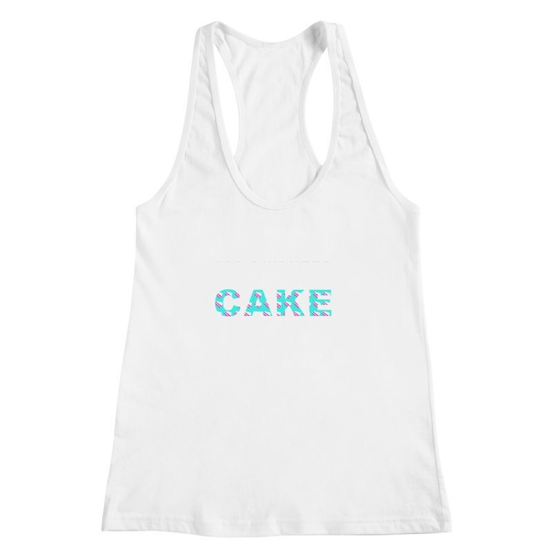 ...NOW I'M PREGNANT (baby blue) Women's Racerback Tank by More Cake?