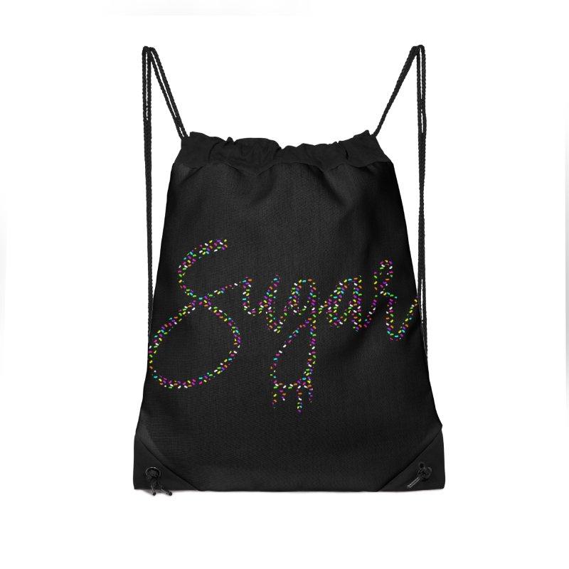 SUGAR (SPRINKLES) Accessories Drawstring Bag Bag by More Cake?