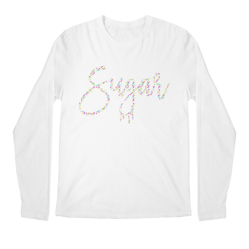 SUGAR (SPRINKLES) Men's Regular Longsleeve T-Shirt by More Cake?