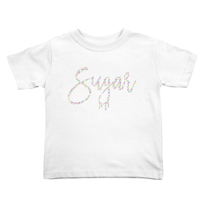 SUGAR (SPRINKLES) Kids Toddler T-Shirt by More Cake?