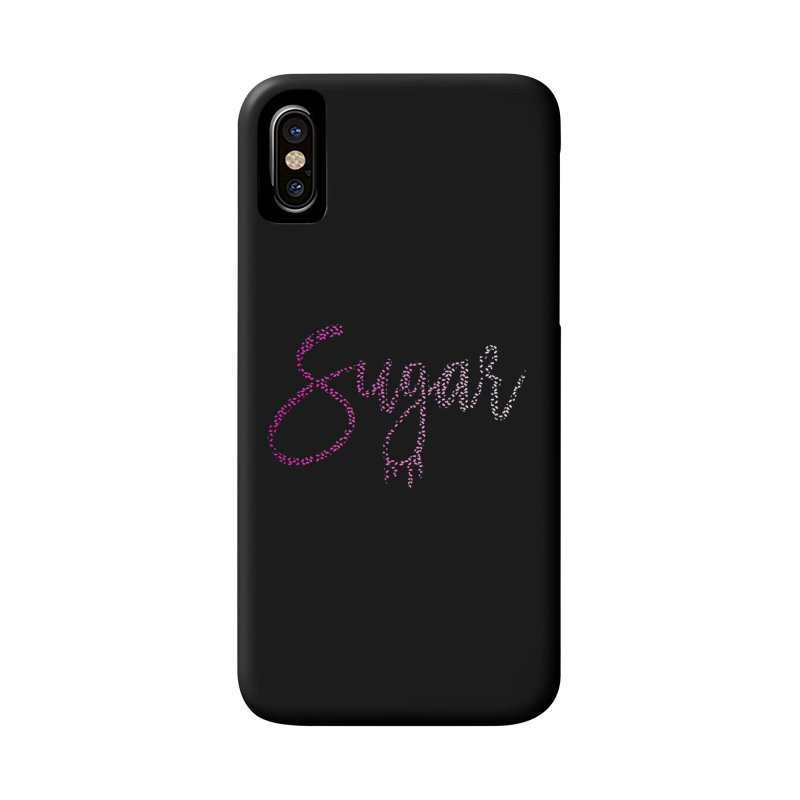Sugar (PINK) Accessories Phone Case by More Cake?