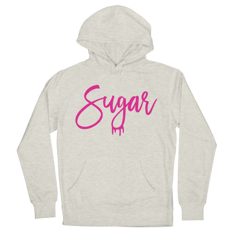 Sugar (Pink) Women's Pullover Hoody by More Cake?