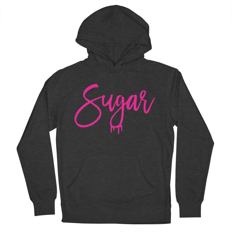 Sugar (Pink) Men's Pullover Hoody by More Cake?