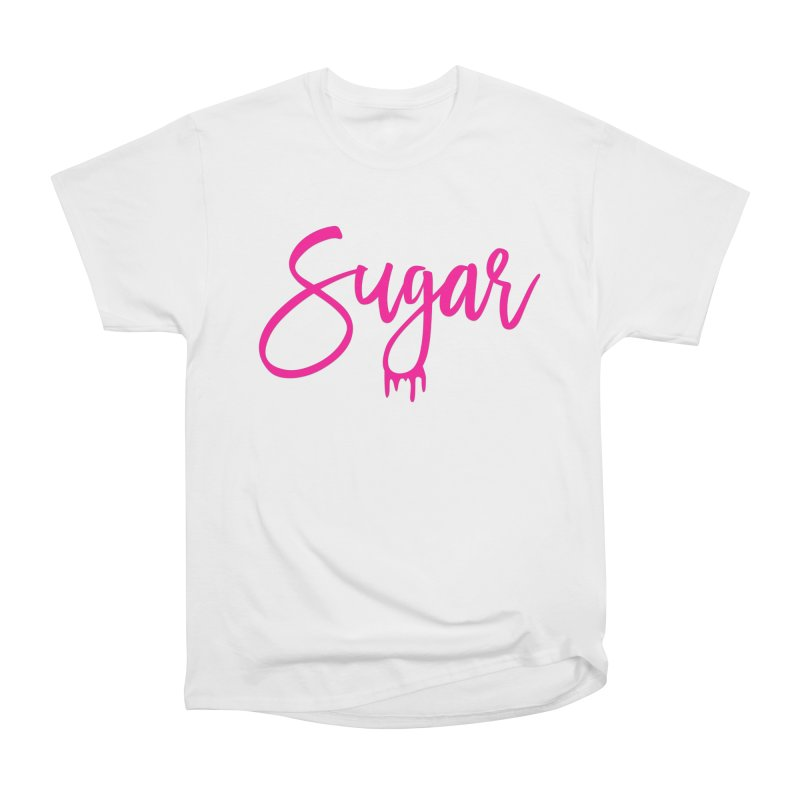 Sugar (Pink) Men's Classic T-Shirt by More Cake?
