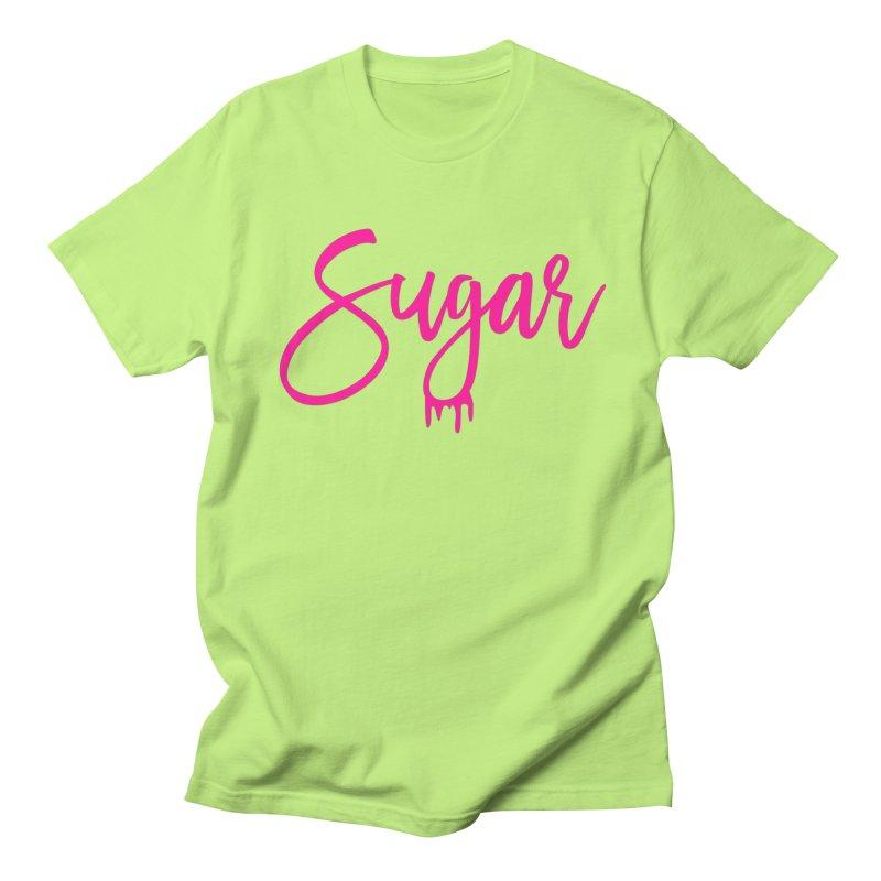 Sugar (Pink) Men's Regular T-Shirt by More Cake?