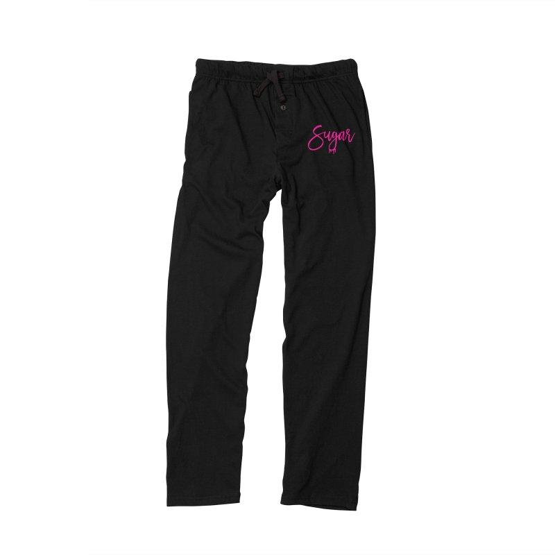 Sugar (Pink) Men's Lounge Pants by More Cake?