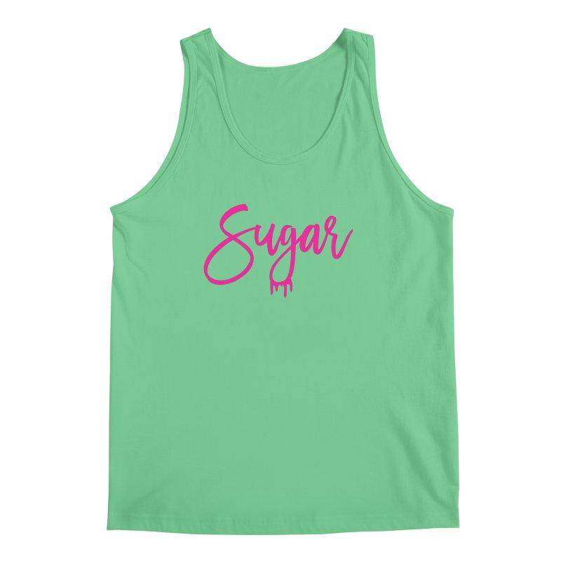 Sugar (Pink) Men's Regular Tank by More Cake?