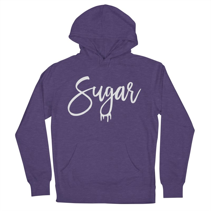 Sugar (White) Women's French Terry Pullover Hoody by More Cake?