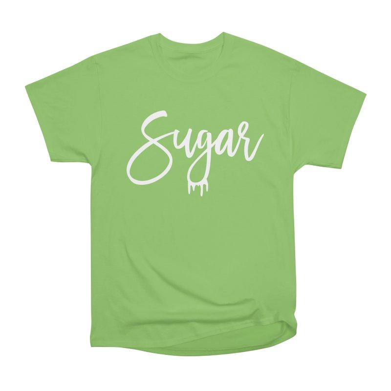 Sugar (White) Men's Heavyweight T-Shirt by More Cake?
