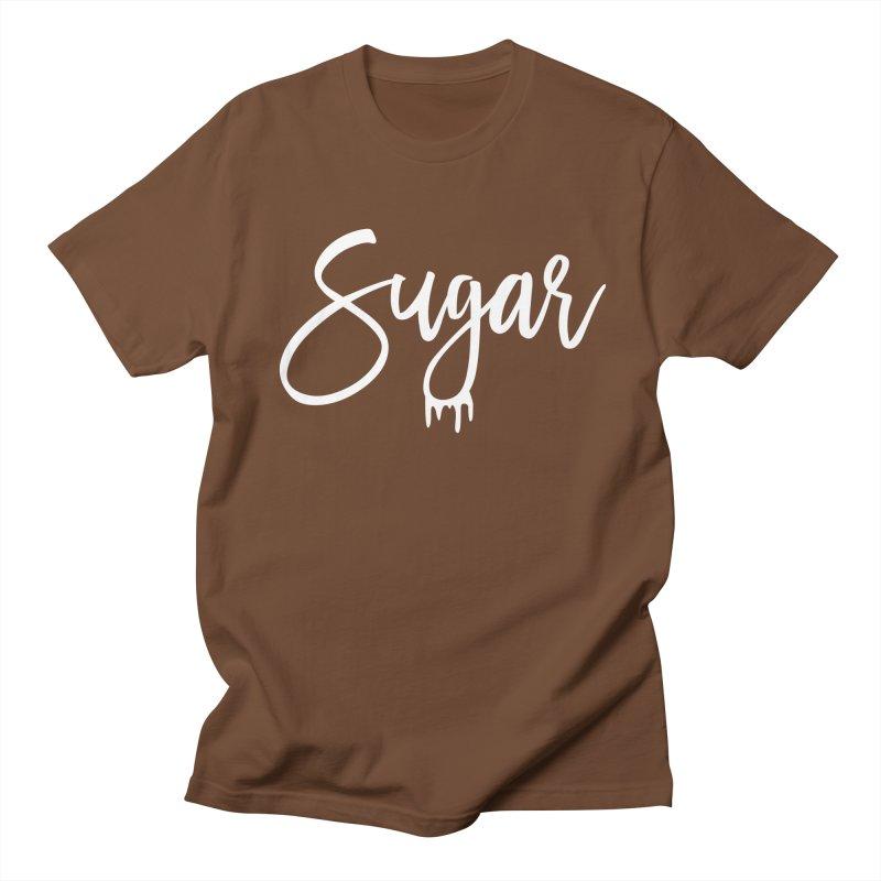 Sugar (White) Women's Unisex T-Shirt by More Cake?