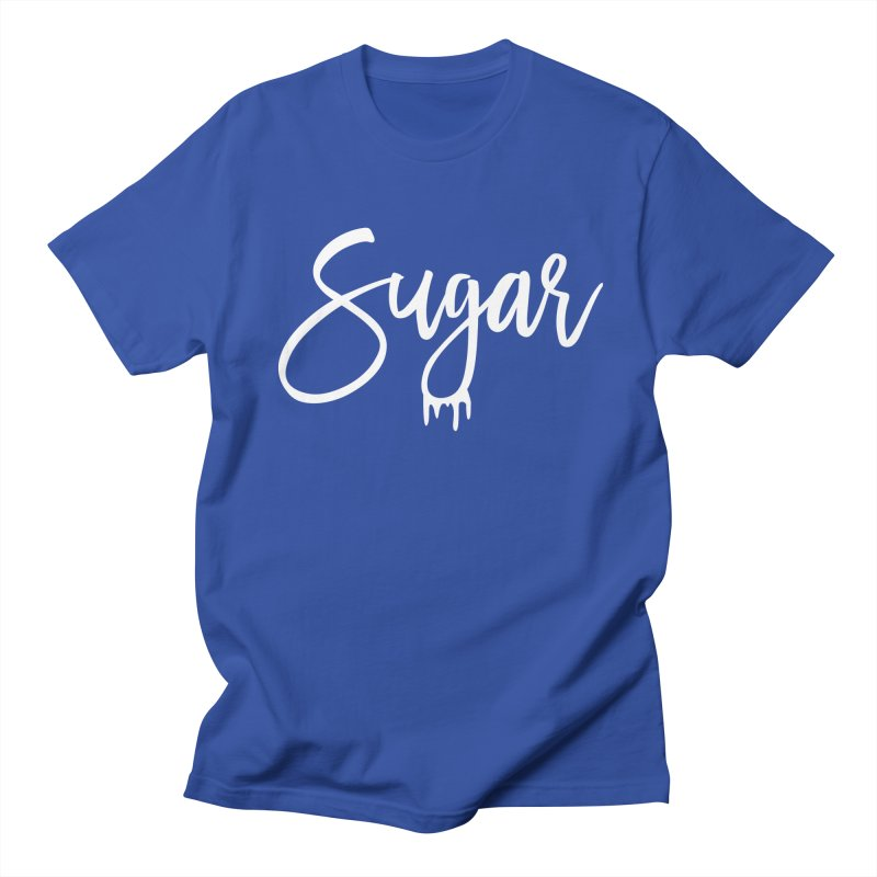Sugar (White) Men's Regular T-Shirt by More Cake?