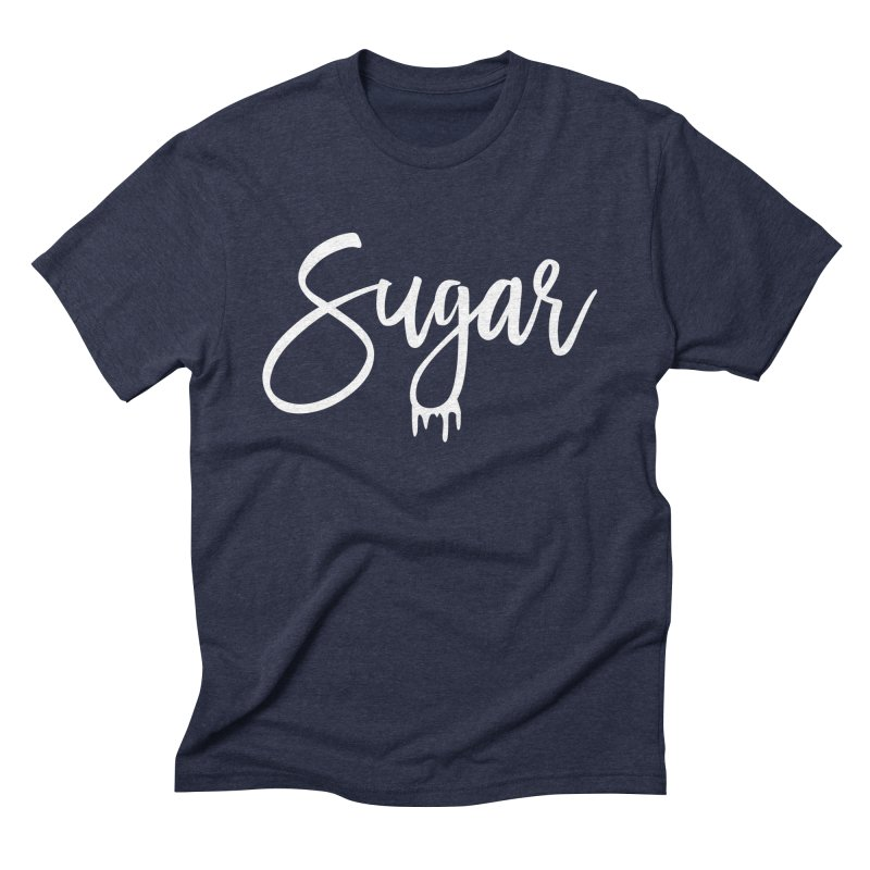 Sugar (White) Men's Triblend T-Shirt by More Cake?