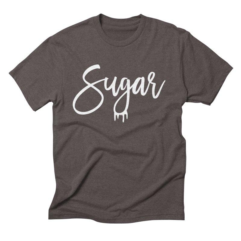 Sugar (White) Men's Triblend T-Shirt by More Cake?